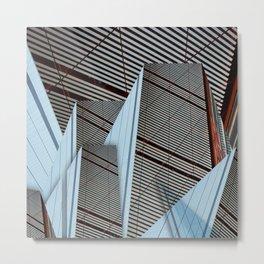 T-T3 Metal Print