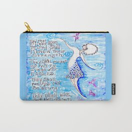 Isaiah 40:31 Carry-All Pouch