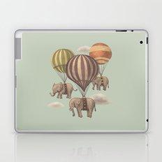Flight of the Elephants - mint option Laptop & iPad Skin