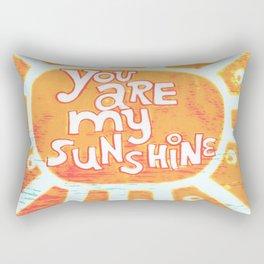 You are My Sunshine Rectangular Pillow