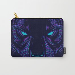 Aztec Panther Face Carry-All Pouch