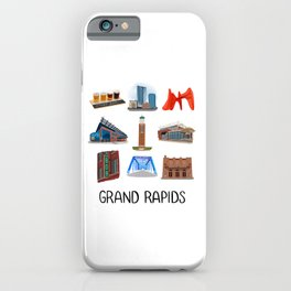 Grand Rapids iPhone Case