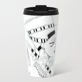 Nefertiti Egyptian Queen Travel Mug