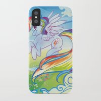 mlp iPhone & iPod Cases featuring Rainbow Dash - MLP by mmishee
