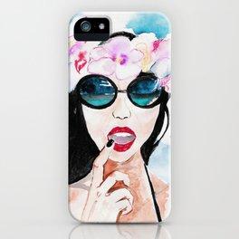 Hawaiian Beauty iPhone Case