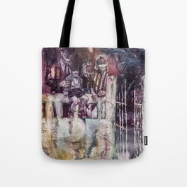 Shifts and Cracks (The Gates of Yesod) Tote Bag