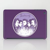 three of the possessed iPad Cases featuring Dostoevsky The Possessed 1872 by Kisa's Lychee