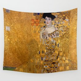 The Woman In Gold Bloch-Bauer I by Gustav Klimt Wall Tapestry
