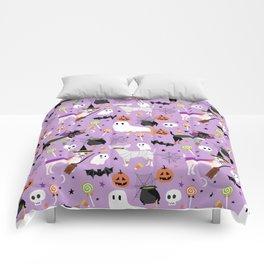 Chihuahua halloween cute spooky seasonal dog pattern chihuahuas Comforters