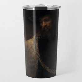 Aristotle with a Bust of H0mer Travel Mug