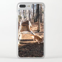 Life is Ruff Clear iPhone Case