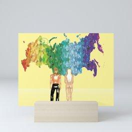 Olympics Russia Mini Art Print