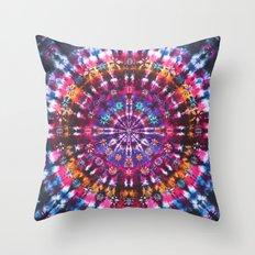 Tie Dye Pattern Throw Pillow