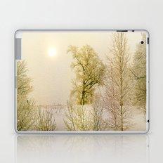 Golden Winter Forest Laptop & iPad Skin