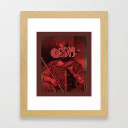 GoonThrone Framed Art Print