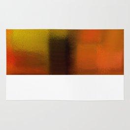 Colorfield (Orange/Red/Green) Rug