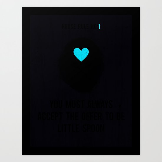 Little Spoon Art Print