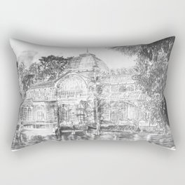 Crystal Palace (El Retiro Park - Madrid) Rectangular Pillow