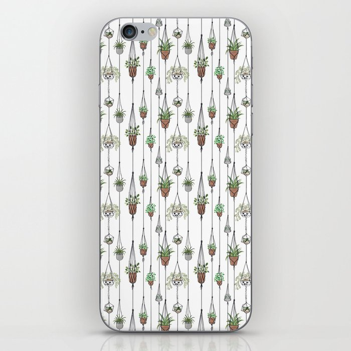 Hanging Plants iPhone Skin