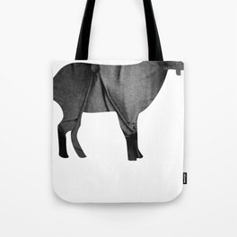Goat (The Living Things Series) Tote Bag