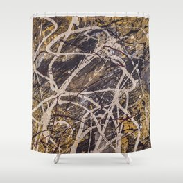 Verness painting Shower Curtain