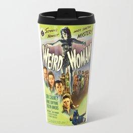 Weird Woman, vintage horror movie poster Travel Mug
