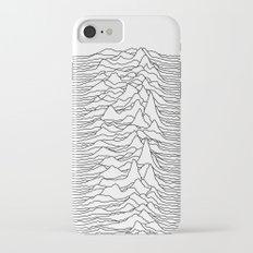 Unknown Pleasures - White iPhone 7 Slim Case