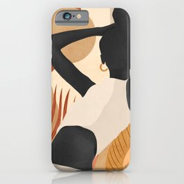 Tropical Girl 23/2 iPhone Case