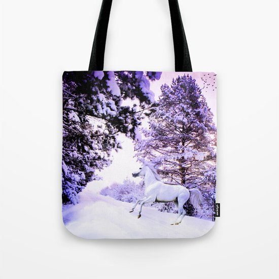 snow beauty Tote Bag