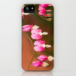 Bleeding Hearts iPhone Case