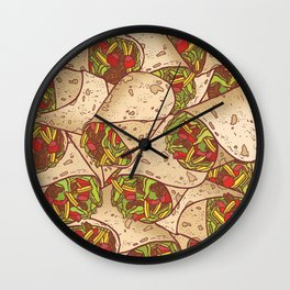 Burritos Wall Clock