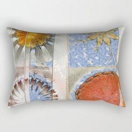 Goondie Fact Flower  ID:16165-095608-32641 Rectangular Pillow