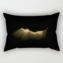 Mysterious Crack Rectangular Pillow