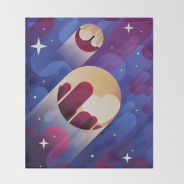Pluto Throw Blanket