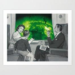 Radioactive Tourism: Part 1 Art Print