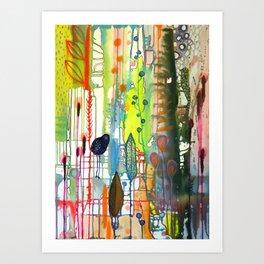 la traverse Art Print