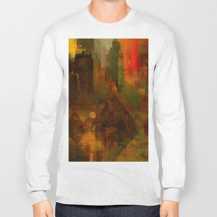 Pyramidal city Long Sleeve T-shirt