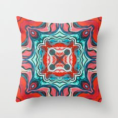 Red V Throw Pillow