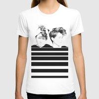 tegan and sara T-shirts featuring Tegan & Sara by MeMRB