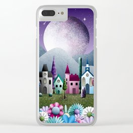 Moondale Clear iPhone Case
