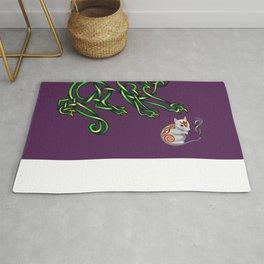 Celtic Cat-n-mouse Rug