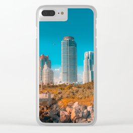 South Pointe Pier Clear iPhone Case