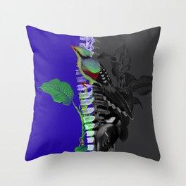 Triceratoria Throw Pillow