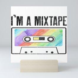Mixtape Cassette Gay Lesbian Homo CSD Gift Mini Art Print