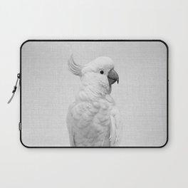 White Cockatoo - Black & White Laptop Sleeve