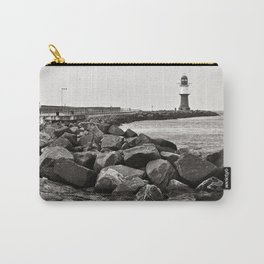 Lighthouse - Warnemuende - Beach - Baltic Sea Carry-All Pouch