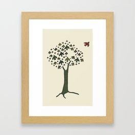 The Bird Tree Framed Art Print
