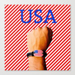 US Patriot Canvas Print