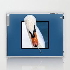 Swan with 3D pop out of frame effect Laptop & iPad Skin