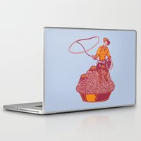 western Laptop & iPad Skins featuring Spaghetti Western by Tom Burns